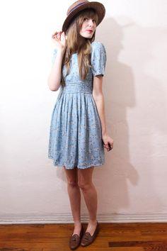 I really like denim...and definitely as a dress.