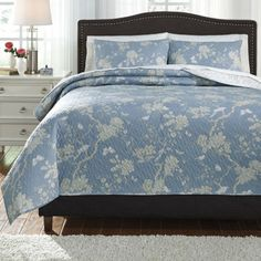 FREE SHIPPING AVAILABLE! Buy Signature Design by Ashley® Damita 3-pc. Quilt Set at JCPenney.com today and enjoy great savings.