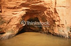 Stock Photo : Alcove in rock formation