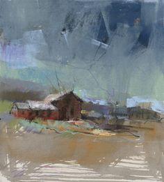 Storm. 12 x 16in, pastel. Dawn Emerson