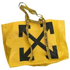 Immaculate brand new OFF WHITE tote bag with tag!Never worn- perfect every day tote/ shopper bag White Tote Bag, Travel Bags For Women, Shopper Bag, Mellow Yellow, White Women, Luxury Consignment, Off White, Brand New, Street
