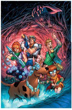 Os famosos desenhos de Hanna-Barbera ganharam nova roupagem na nova linha de publicações da DC, conheça os novos traços dos personagens.