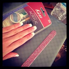 3 drugstore acrylic nail kits these are so easy and totally worth did my own acrylic nails at home for first time acrylic nails at homediy solutioingenieria Image collections