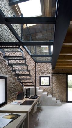 Having a dream house is most everyone dreams. The development of architecture itself make many ideas popped up and give many choices on building a house that many people dream about. One of the new architecture ideas is a glass… Continue Reading → Industrial House, Industrial Interiors, Industrial Style, Industrial Decorating, Urban Industrial, Industrial Design, Vintage Industrial, Industrial Furniture, Kitchen Industrial