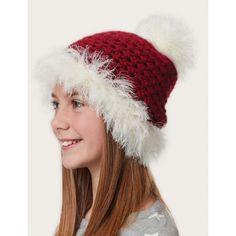 Fur Trimmed Hat