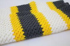 Crochet Granny Baby Blanket by Lovelyhooks1 on Etsy