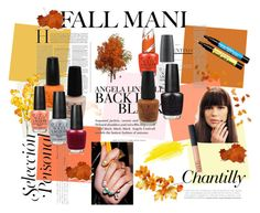 """""""Fall mani OPI Nails"""" by muttoh ❤ liked on Polyvore featuring beauty, H&M and OPI"""