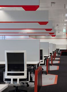 Office Design Gallery - The best offices on the planet Corporate Interiors, Corporate Design, Office Interiors, Interior Work, Office Interior Design, Architecture Details, Interior Architecture, Office Fit Out, Office Plan