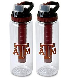 2 Cool Gear Texas AM College Football Tailgate Sport Water Bottles  32 oz *** Be sure to check out this awesome product.