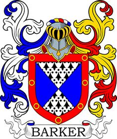 Barker Coat of Arms