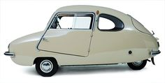 The 1955 Bambino 200: Looks like a car that would be in a Jetsons cartoon >