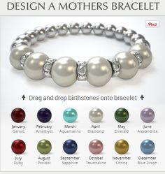 mothers braclet jelewly   Design a Unique Mothers Jewelry Bracelet - Great Mother's Day Gift