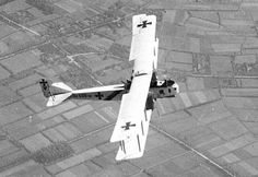 Gotha GIV heavy bomber - designed for long range operations, it entered service in August 1917 and gave both London and Paris their first significant taste of aerial bombardment, to considerable civil consternation.  They generally operated by night.