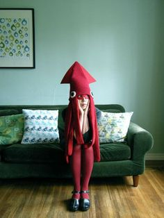 Squid costume! awesome
