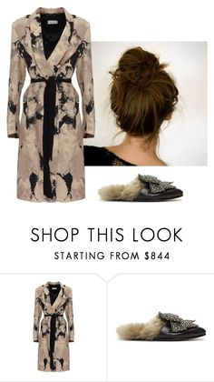 """pampering day"" by zkrn on Polyvore featuring Dries Van Noten and Gucci"