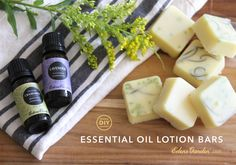 This DIY Essential Oil Lotion Bar recipe is not only fun, but also incredibly easy to make; and with ingredients like Coconut Oil and Lavender, you'll have soft