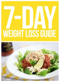 WEIGHT LOSS: 7 days of workouts and recipes- so easy!