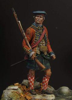 42nd Foot (Royal Highlands) officer, 1760