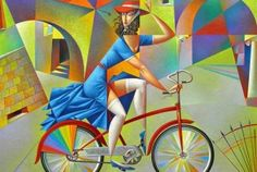 Georgy Kurasov Bicycle 40 x 32 (2)