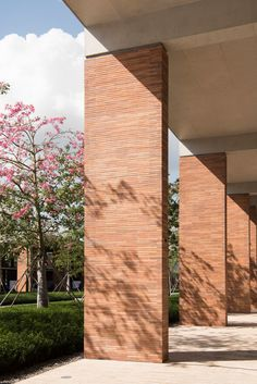 Foster + Partners uses extra-long bricks for Chinese university campus