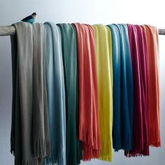 West Elm Softest Throw Ombre. On sale for $35.