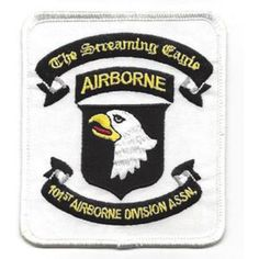 101st Airborne Division Patch Screaming Eagles Assocation United States