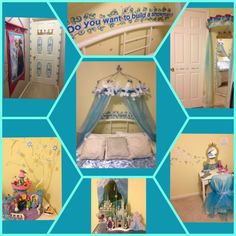 Frozen room decor for my daughter