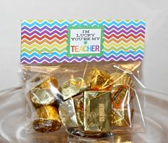 Free St. Patrick's Day baggie topper from DimplePrints