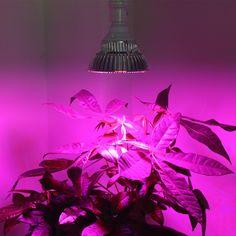 1pcs Full Spectrum Led Grow Light E27 30W 50W 80W Led Growing Lamp for Flower Plant Hydroponics System aquarium Led lighting