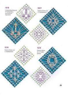Online shopping from a great selection at Arts, Crafts & Sewing Store. Bobbin Lace Patterns, Crochet Patterns, Knitting Patterns, Bobbin Lacemaking, Lace Heart, Point Lace, Lace Jewelry, Needle Lace, Lace Making