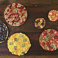 With the basic building blocks of crust and cream filling, you can create a gorgeous, seasonal fruit tart any time of the year.
