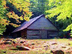Appalachian Barn In Fall (Desiree Paquette)