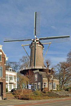 """Molen """"'t Slot"""" Gouda, Windmill, Places, Travel, Slot, Birth, Historia, Art, Viajes"""