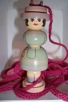 Knitting spool | Flickr - Photo Sharing!