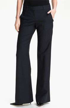 Theory 'Emery - Tailor' Trousers available at #Nordstrom