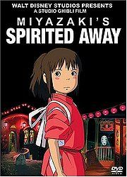Written and directed by acclaimed director Hayao Miyakzaki, Spirited Away is the story of a young girl whisked away to a kind of 'spirit resort' where she must work her way to getting back to her parents. My first experience of animé and i loved it.