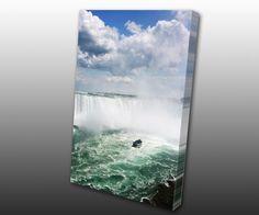 Falling in Love in Niagara Falls, Canvas Gallery Wrap by www.TorontoOnCanvas.com