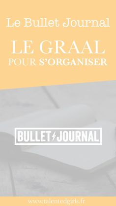 Pour toutes les entrepreneures, mamans, busy women et Talented Girls qui ont du mal à s'organiser. J'ai trouvé le graal : le bullet journal ! Un carnet d'organisation, de to do listes et de planning ultra efficace ! www.talentedgirls.fr