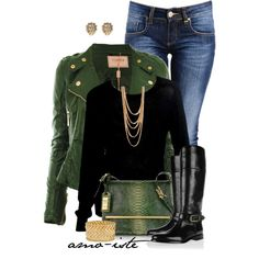 """""""Simple Style w/Leather"""" by amo-iste on Polyvore"""