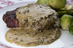 cucina caruso - Part 12 Steak Au Poivre, Greek Recipes, Allrecipes, Meal Prep, Food Porn, Pork, Food And Drink, Chicken, Dinner