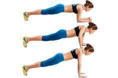 Walking planks - these are much harder than they look. One of my FAVORITES! You will feel it!