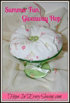 Hope In Every Season: Homemaking Party and a Shabby Chic Giveaway