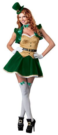 Results 601 - 660 of Find sexy Halloween costumes for women, men, and plus-size right here! Shop our selection for the best sexy Halloween costume ideas around! A revealing, sexy costume is sure to make your Halloween or cosplay event a memorable one. Irish Costumes, St Patrick's Day Costumes, Sexy Halloween Costumes, Adult Costumes, Costumes For Women, Adult Halloween, Couple Halloween, Halloween Clothes, Holiday Costumes