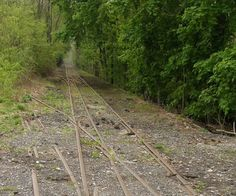 bandoned Tracks at Mount Union, Pennsylvania