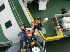 South Korea Ferry Passengers including captain Lee Joon-Seok Are Rescued