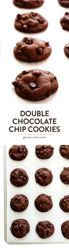Chocolate Chocolate Chip Cookies (Double Chocolate Chip Cookies)
