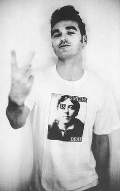 Morrissey - Singer, Wordsmith, Vegetarian, Witty Raconteur and Annoyer of Many.