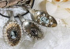 Vintage Inspired: altered spoons