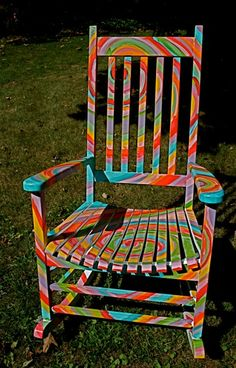 The hippie in me loves this chair.