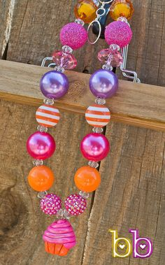 Pink Cupcake Little Girl Necklace!#Repin By:Pinterest++ for iPad#